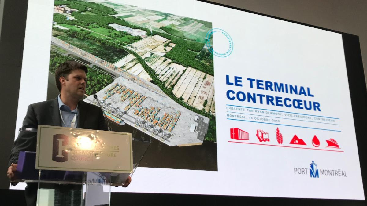 Forum international à Washington: le terminal de Contrecœur parmi les 50 plus grands projets d'infrastructure au monde