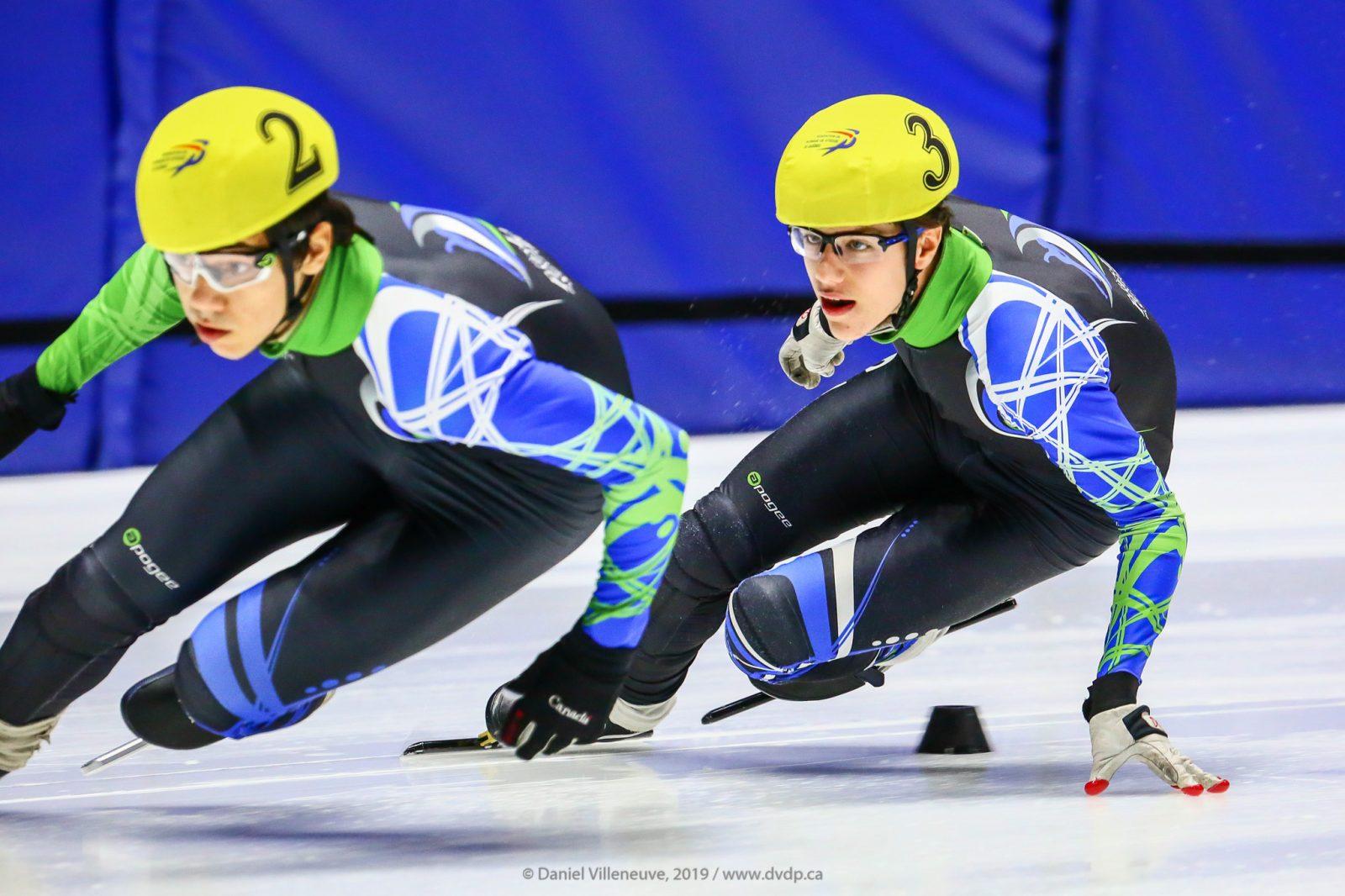 Thomas Forcier et Samuel Darveau : la relève en patinage de vitesse!