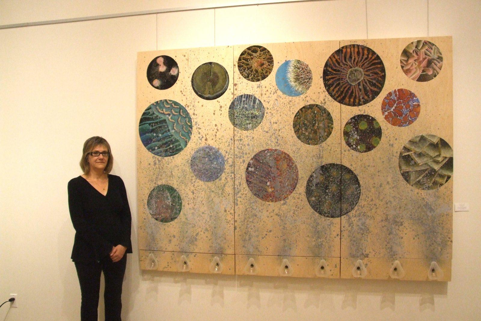 La créativité au coeur du travail de l'artiste Patricia Gauvin