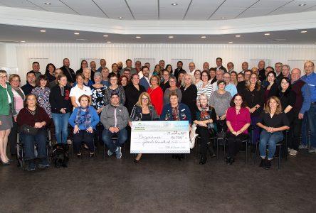 Le conseil municipal de Sainte-Julie remet 43 700 $ aux organismes de Sainte-Julie