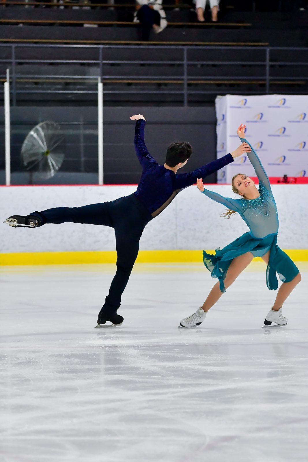 Marjorie Lajoie et Zachary Lagha rayonnent en Finlande