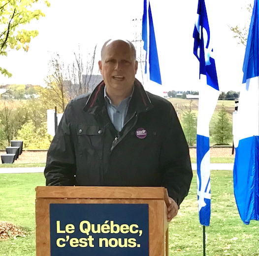 « Le Québec c'est nous! », clame Stéphane Bergeron