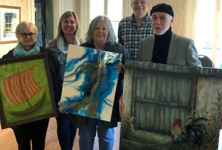 Deux nouvelles acquisitions pour la collection permanente d'œuvres d'art de la Ville de Contrecœur