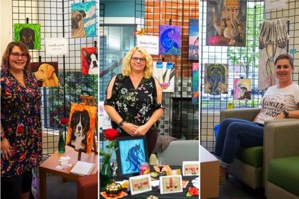 La Municipalité de Saint-Amable acquiert des oeuvres d'artistes locaux