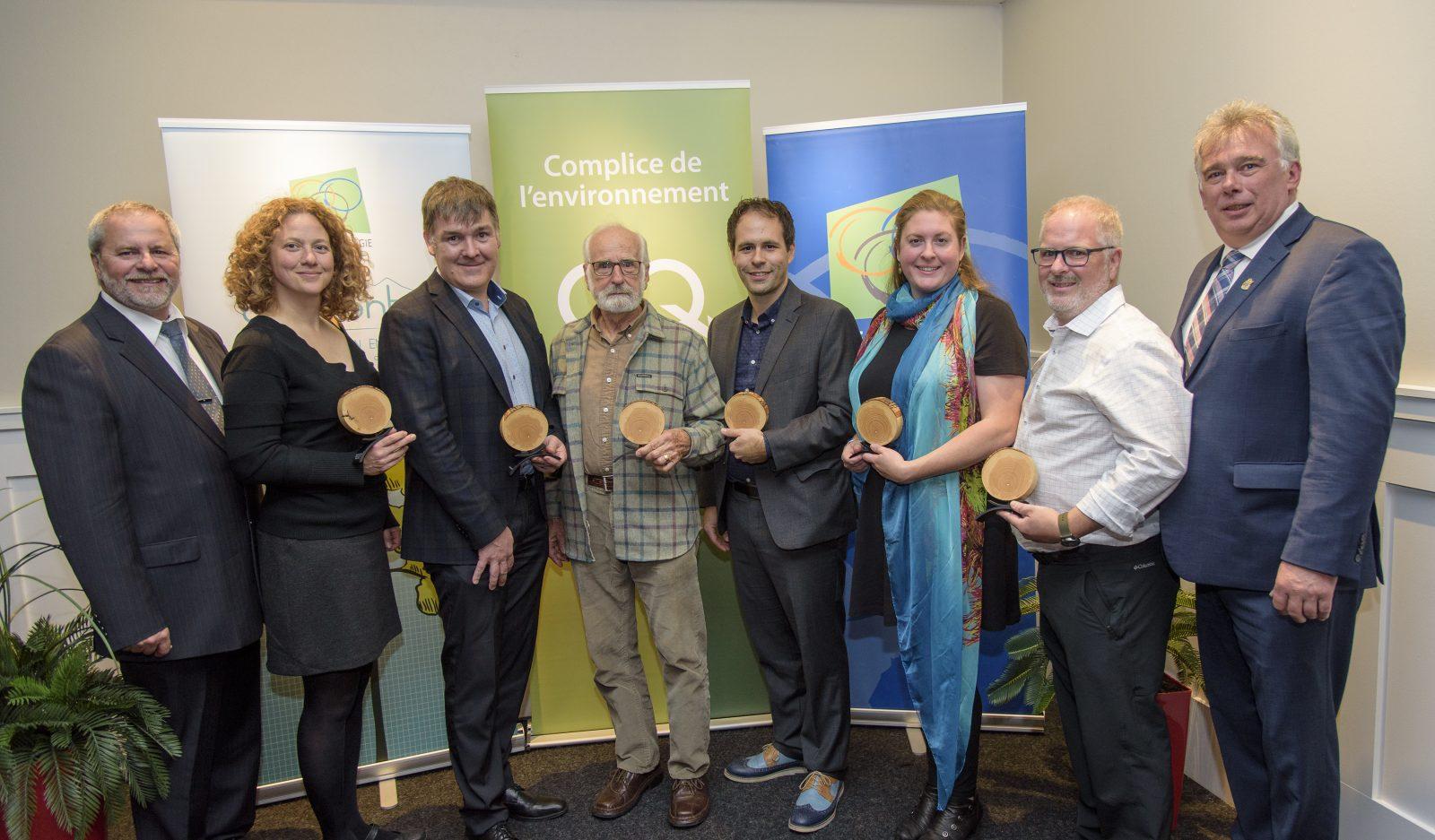 Le CRE Montérégie remet un prix d'excellence à Sanexen pour le projet de réhabilitation du site des Carrières Rive-Sud