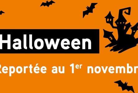 Halloween est reportée au vendredi 1er novembre à Sainte-Julie, Varennes et Saint-Amable
