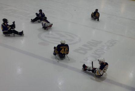 Martin Lavigne veut faire découvrir le parahockey sur glace