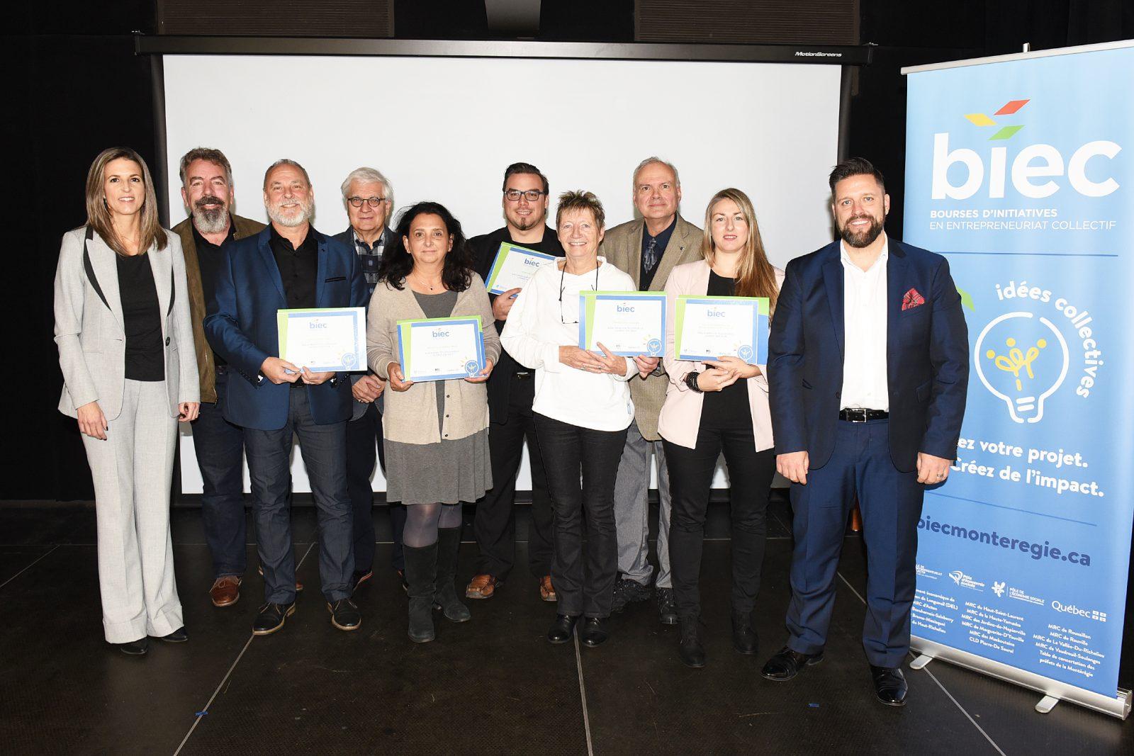 La Maison Gilles-Carle de Boucherville parmi les lauréats de la 1ère édition des Bourses d'initiatives en entrepreneuriat collectif de la Montérégie