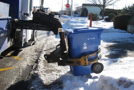 La collecte des matières recyclables maintenue malgré la fermeture du centre de tri de l'agglomération de Longueuil