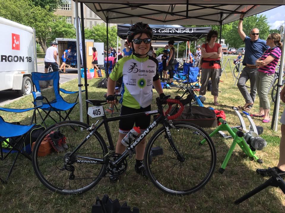 Benjamin Brousseau-Noël décroche l'argent aux Championnats canadiens de cyclocross