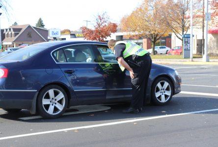 Une opération contre les distractions au volant… principales causes d'accidents