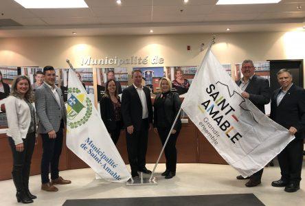 Saint-Amable passe du statut de Municipalité à Ville et adopte une nouvelle image de marque