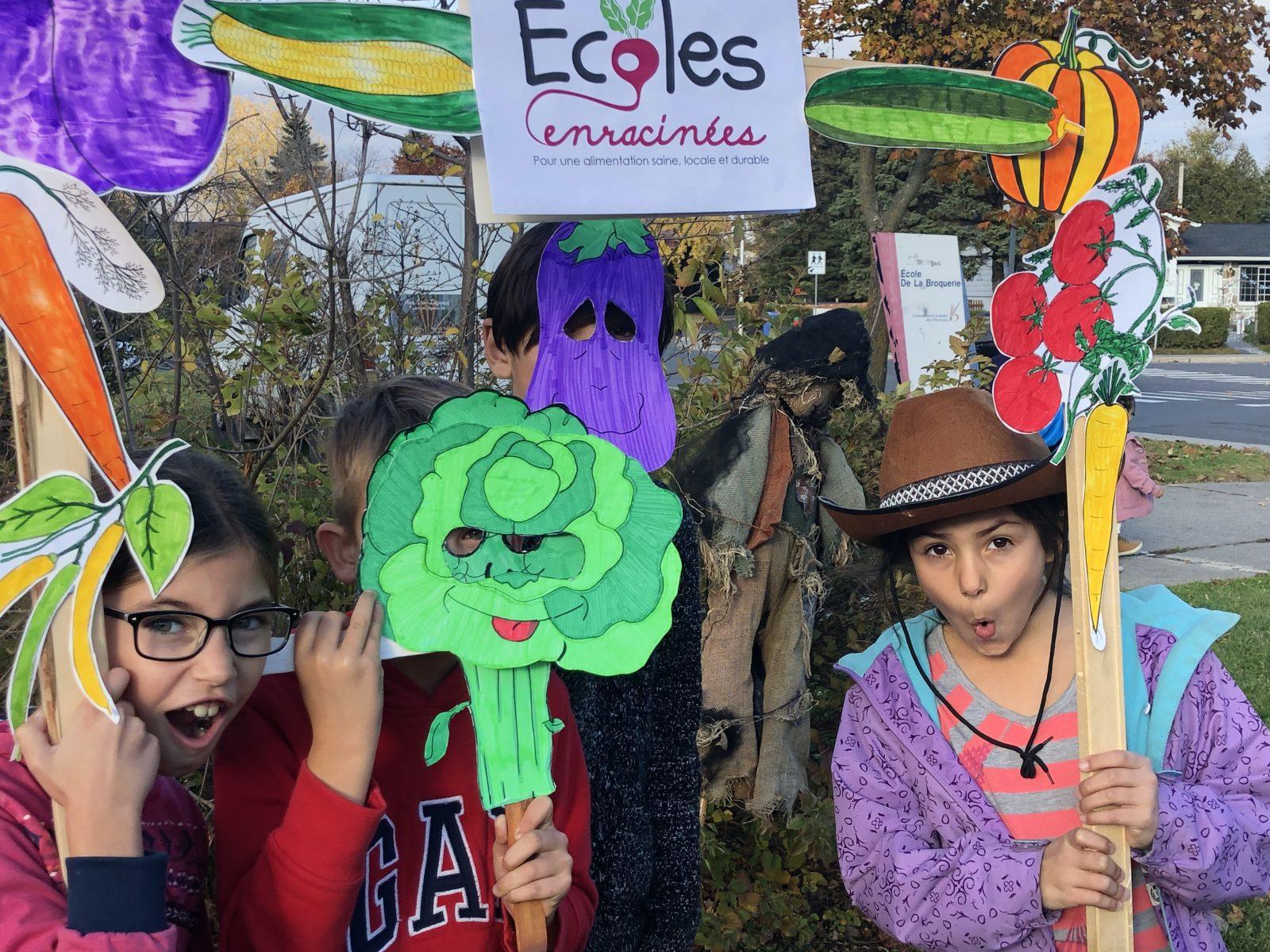 La campagne Écoles enracinées à l'école de la Broquerie couronnée de succès!