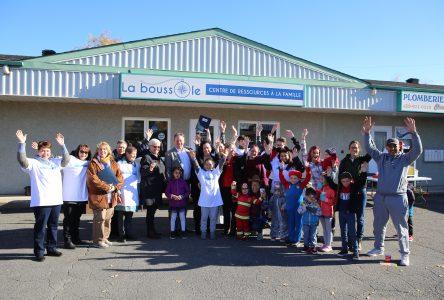 Un nouveau départ pour La boussole : Centre de ressources à la famille!