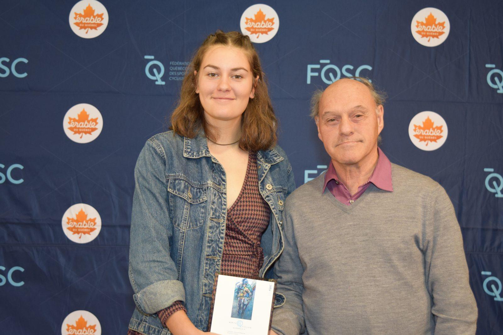 Trois honneurs pour des cyclistes de Boucherville