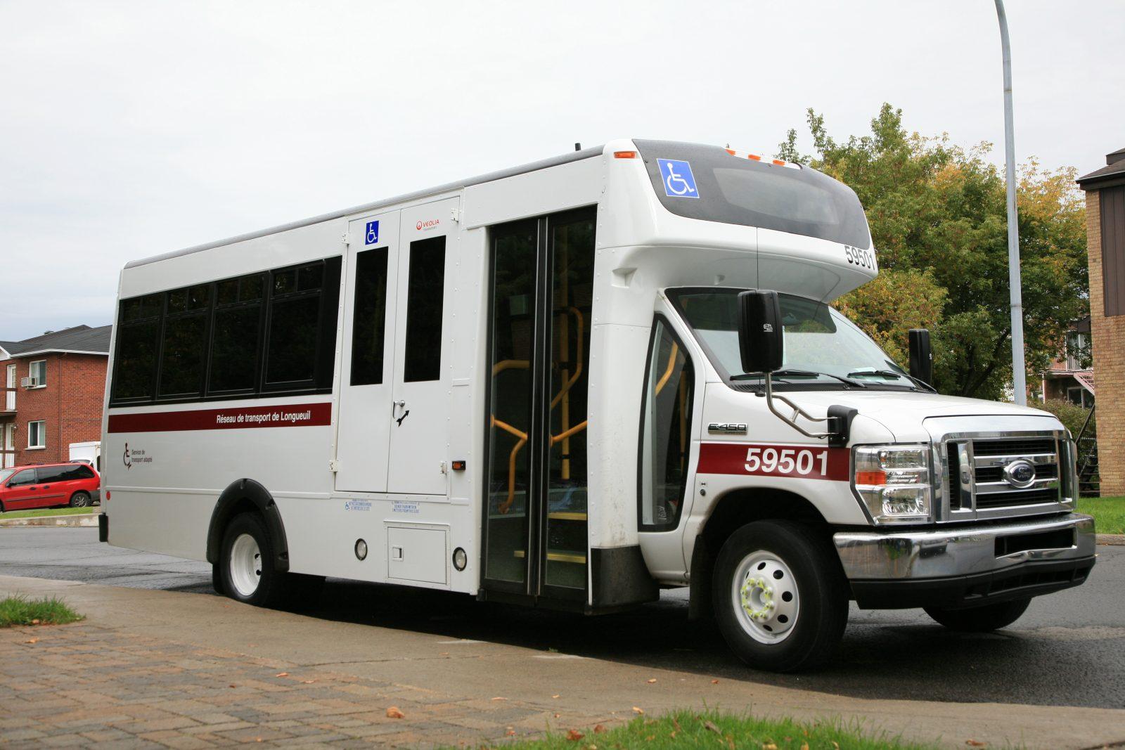Les clients du transport adapté du RTL informés de l'arrivée imminente d'un véhicule avec CONTACT+