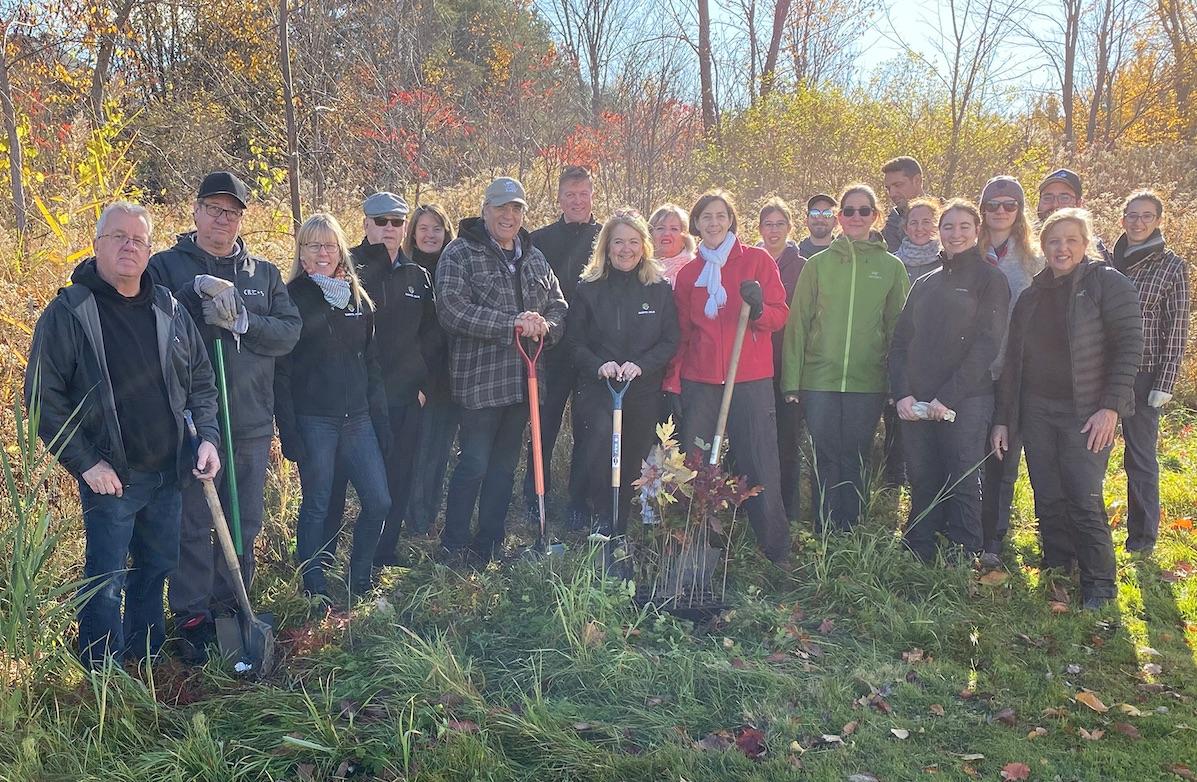 1 000 arbres plantés à Sainte-Julie grâce à la Fondation du Mont-Saint-Bruno et Arbres.eco