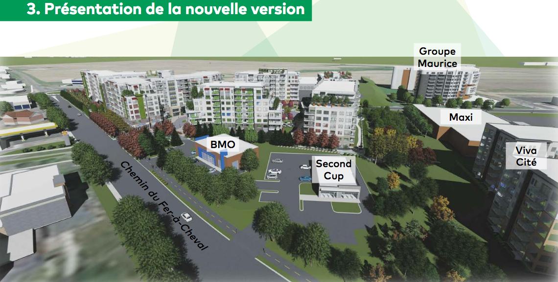 Salle bondée pour la consultation publique sur la version bonifiée du projet immobilier District Sainte-Julie