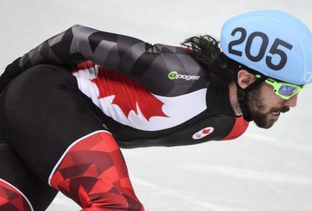 Charles Hamelin de retour sur la glace après deux blessures