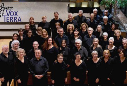 Le choeur Terra Vox à Sainte-Julie le 14 décembre