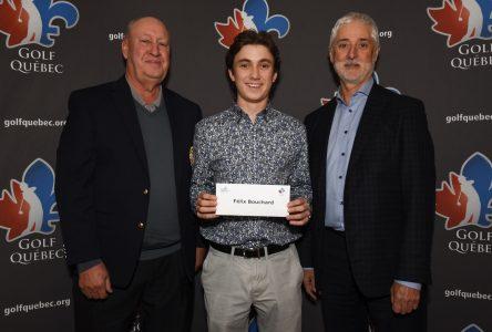Une bourse de 3 000 $ pour un jeune golfeur prometteur de la région