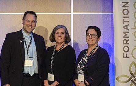 Le Service aux entreprises et à la communauté de la CSP reçoit le prix Distinction 2019
