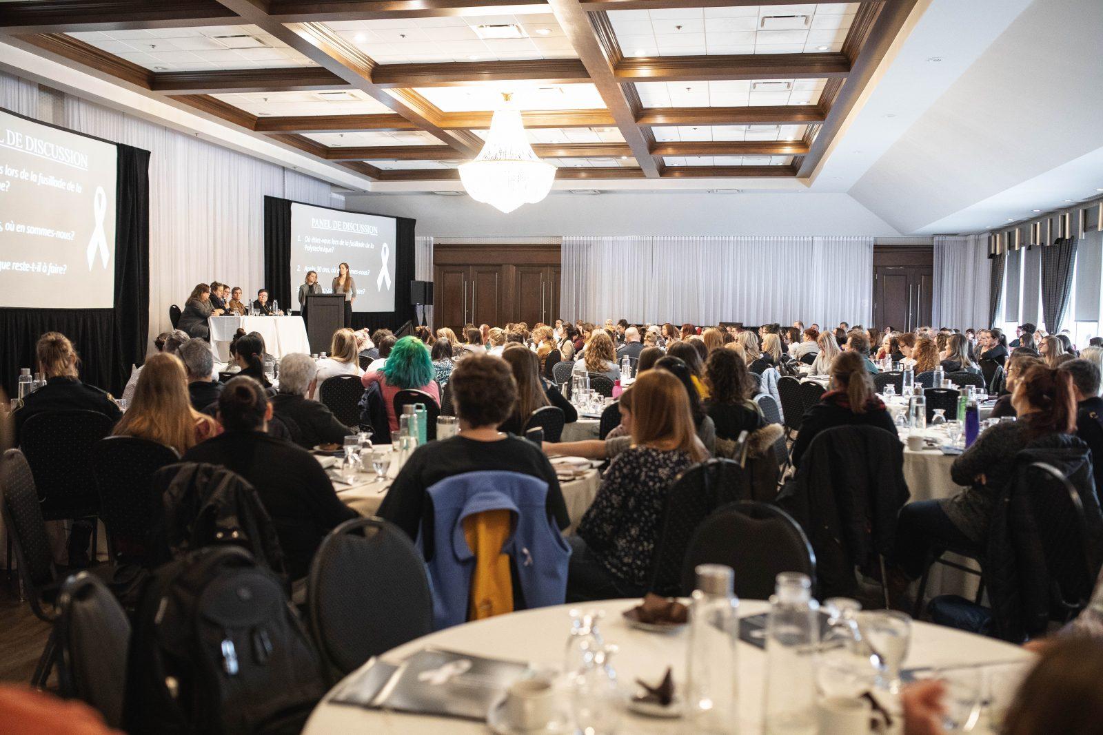 Plus de 200 personnes se réunissent en Montérégie pour venir en aide aux femmes victimes de violences