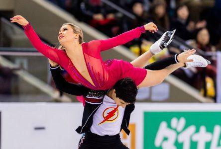 Marjorie Lajoie et Zachary Lagha en route pour les Championnats du monde de patinage artistique