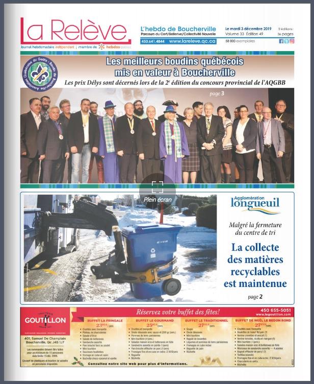 Boucherville - 3 décembre 2019