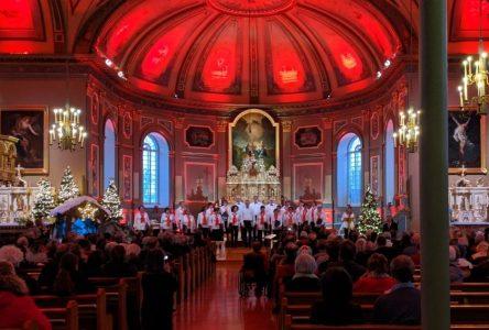 La Chorale Pierre-Boucher a offert un magnifique concert de Noël à Boucherville