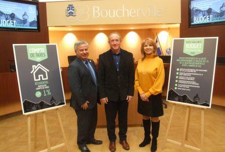 Une première augmentation de la taxe résidentielle de 1% en cinq ans à Boucherville