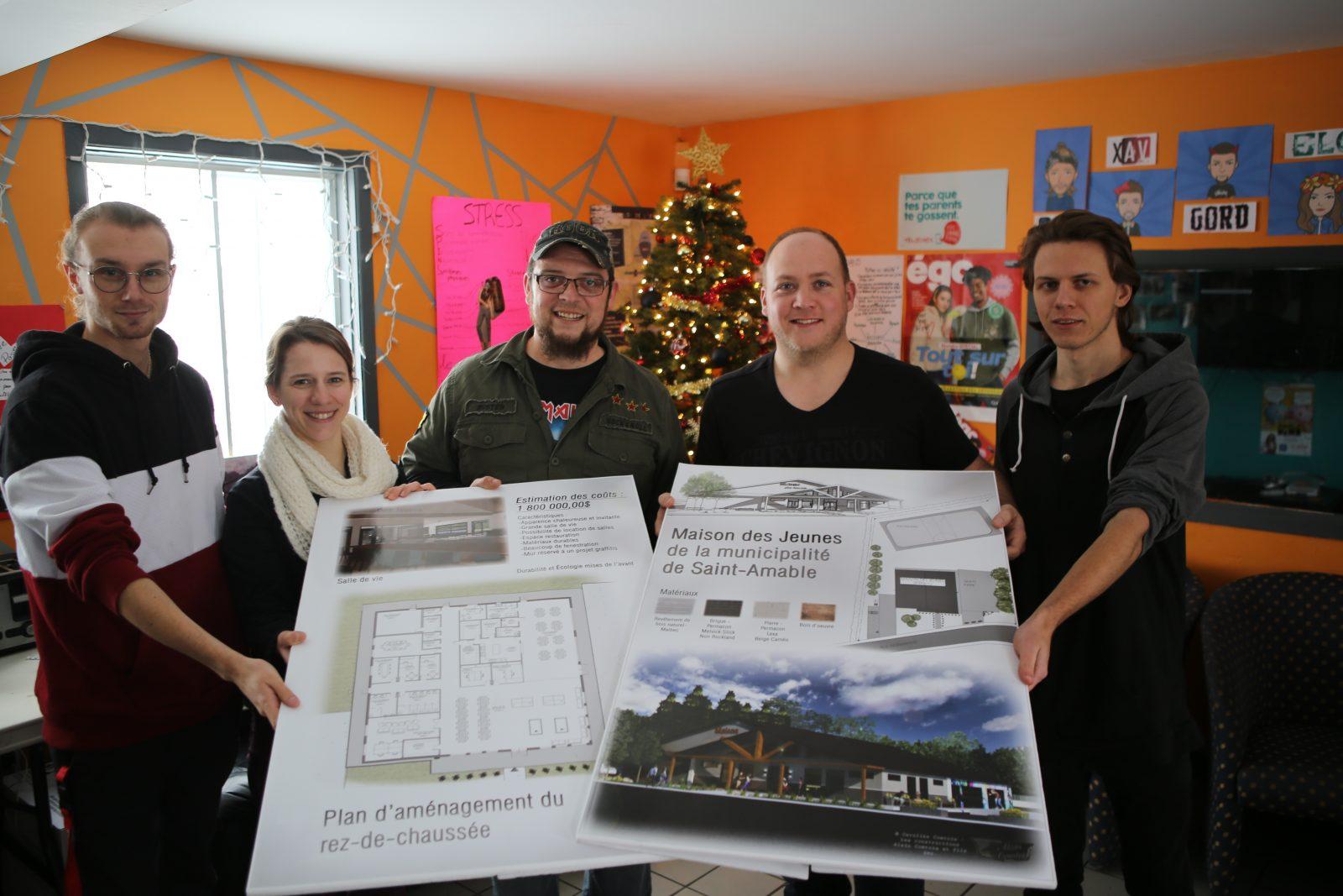 La Maison des jeunes de Saint-Amable caresse un grand projet pour 2020!