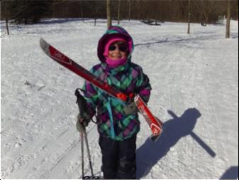 Cours de ski de fond à Saint-Amable