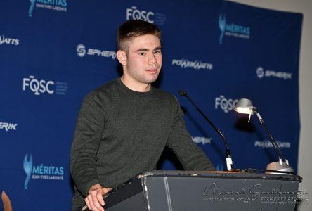 Le cycliste Tristan Jussaume désigné meilleur pistard junior québécois
