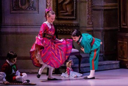 Alicia Grégoire dansera dans le célèbre Casse-Noisette