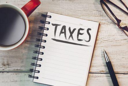 Un répit pour les payeurs de taxes