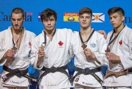 Le judoka Jacob Valois remporte l'or aux Championnats canadiens élites
