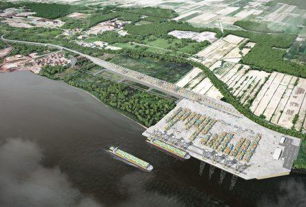 En attente d'une décision imminente sur son agrandissement à Contrecœur, le Port de Montréal promet d'être autonome