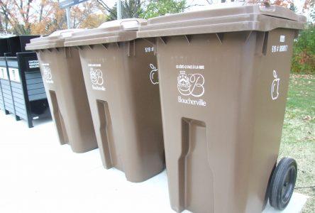 Le taux de participation de la collecte de matières organiques s'élève à 70%