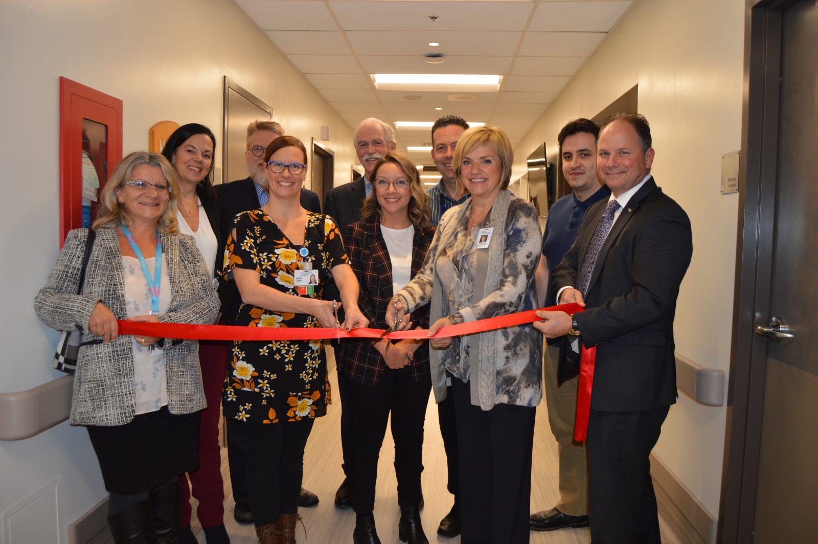 Le Centre d'hébergement du Manoir-Trinité inaugure sa nouvelle unité de soins palliatifs