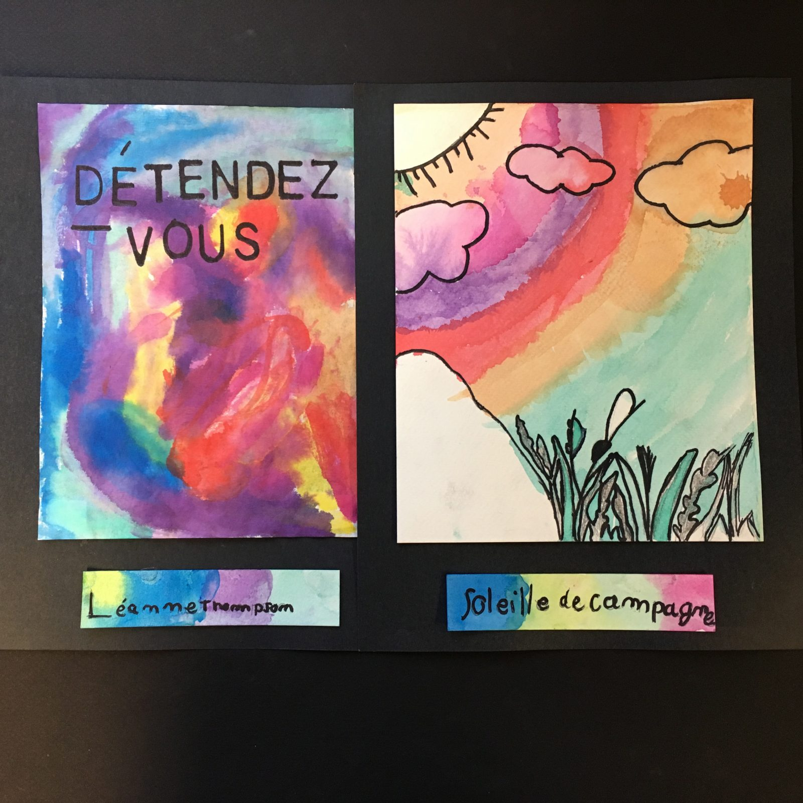La Galerie Lez'artsprésente l'exposition Vibrer avec la nature réalisée par des élèves de l'école Les Jeunes Découvreurs