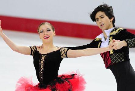 Championnats nationaux de patinage artistique : Marjorie Lajoie et Zachary Lagha remportent la médaille d'argent