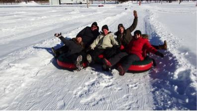 Les plaisirs d'hiver vous attendent le 2 février au parc Le Rocher à Saint-Amable