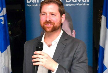 Xavier Barsalou-Duval publie la liste des programmes d'aide gouvernementaux en lien avec la COVID-1