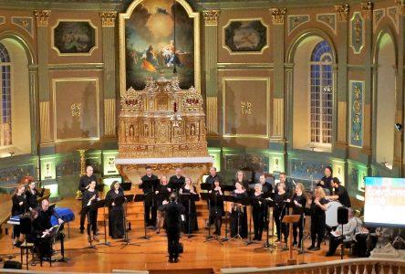 Concert de l'ensemble vocal À ContreVoix au profit des Petits Frères de Longueuil