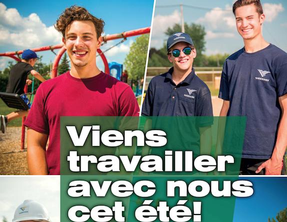 Les étudiants invités à venir travailler à la Ville de Varennes cet été