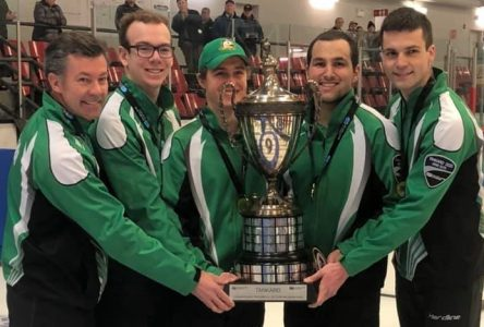Victoire de Boucherville aux Championnats québécois de curling