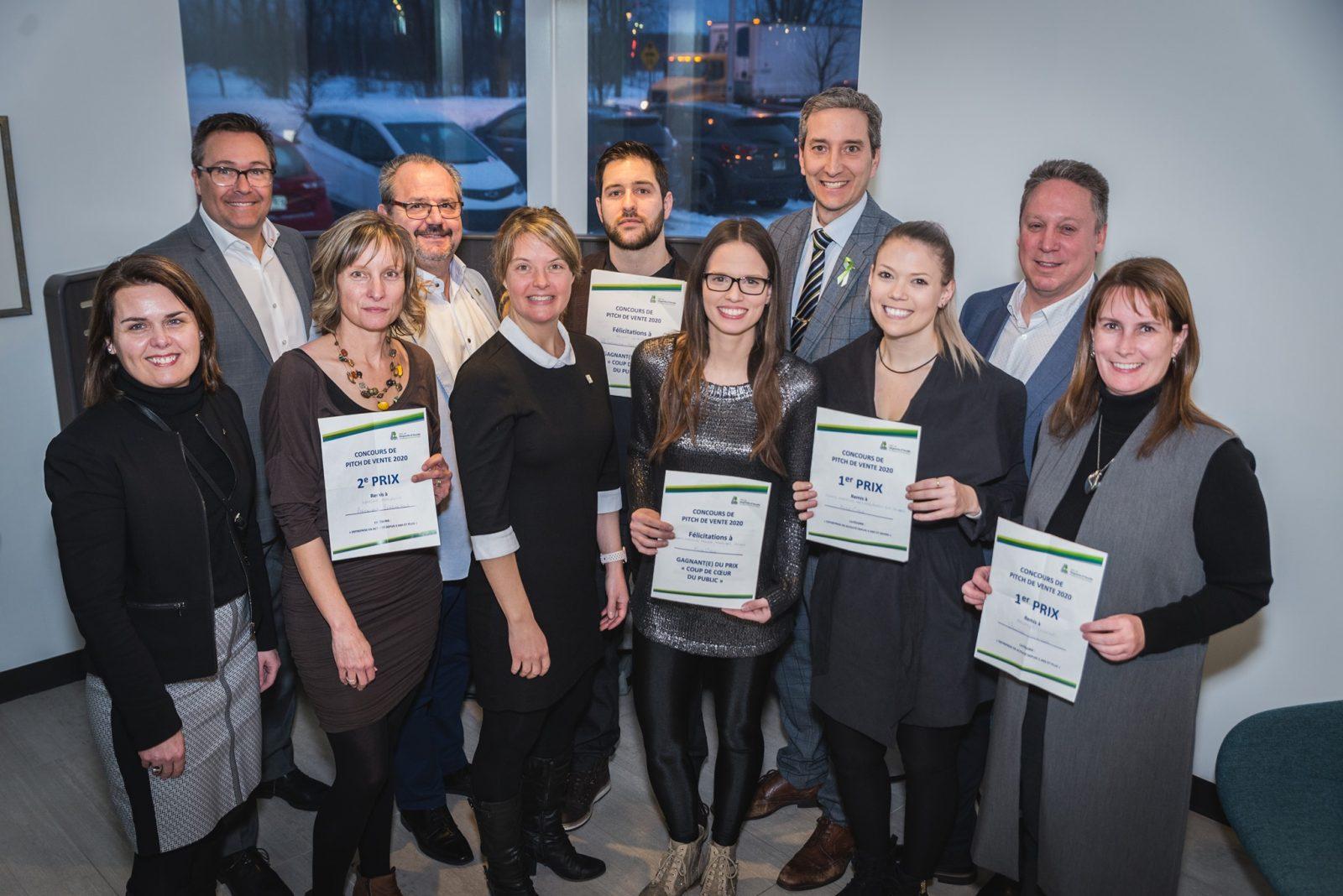 Défi OSEntreprendre: la MRC dévoile les finalistes de son concours de pitch de vente 2020