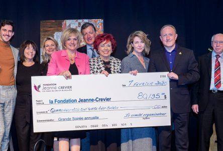 La Grande soirée de la Fondation Jeanne-Crevier rapporte 80 195 $