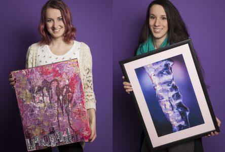«Troque-tes-toiles», un événement rassembleur axé sur le troc et la vente d'oeuvres d'art